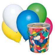SusyCard õhupallid erinevad värvid 100tk