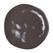 Bradley keraamiline desserditaldrik ORGANIC, pruun 20cm