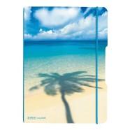 Herlitz kaustik flex Palm A4/2x40 lehte, ruut+joon