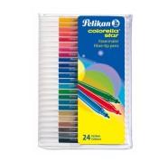 Pelikan viltpliiatsid 24 värvi