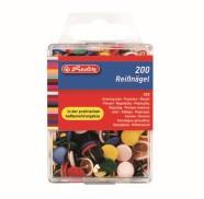 Herlitz rõhknaelad värvilised 200 tk