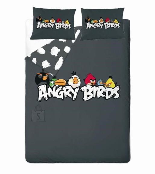 Bradley voodipesukomplekt Angry Birds HANG AROUND  tekikott 200x210cm + 2 padjapüüri