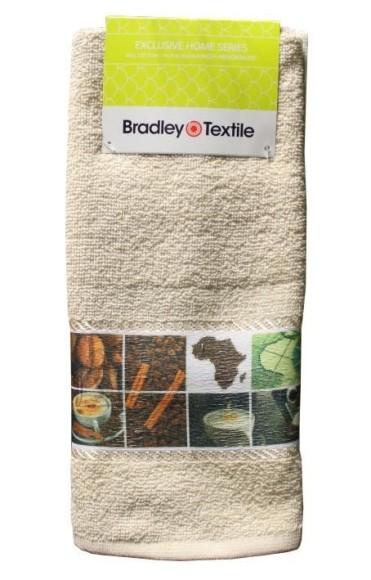 Bradley frotee köögirätik 40x60cm kohvi/ tee bordüüril