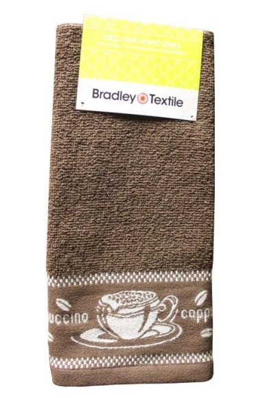 Bradley frotee köögirätik 40x60cm Cappucino