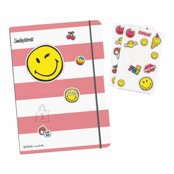 Herlitz kaustik flex  A4 Smiley Girly