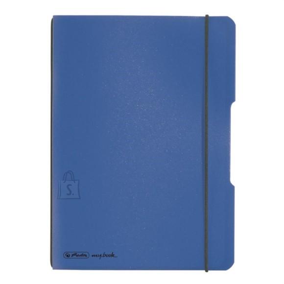 Herlitz kaustik flex A5/40 sinine ruuduline