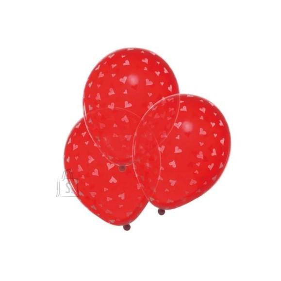 SusyCard õhupallid Südametega  6tk