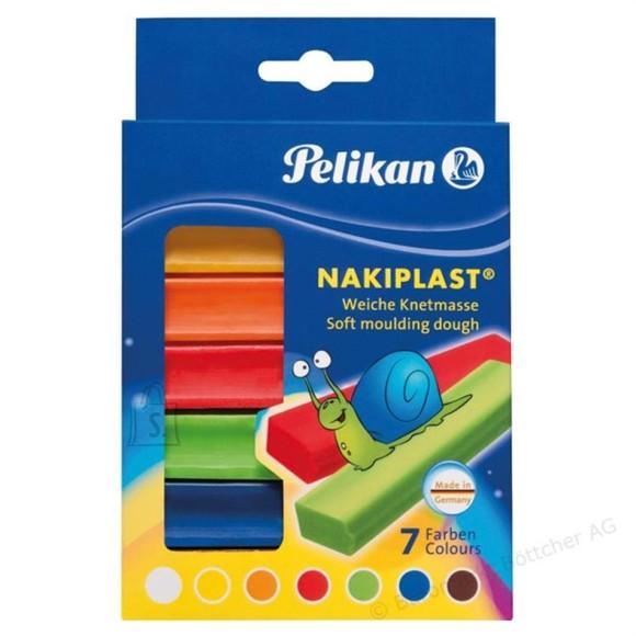 Pelikan plastiliinid 7 värvi