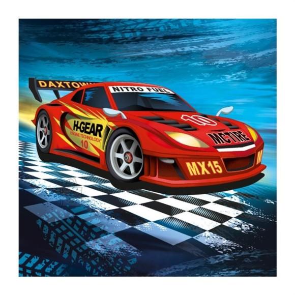 SusyCard salvrätikud Super Racer 33x33 cm 20 tk