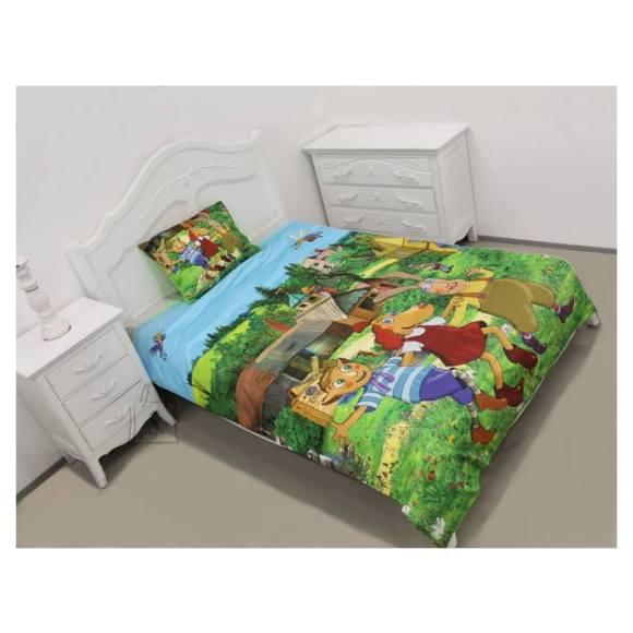 Bradley laste voodipesukomplekt Lotte 3 sõpra