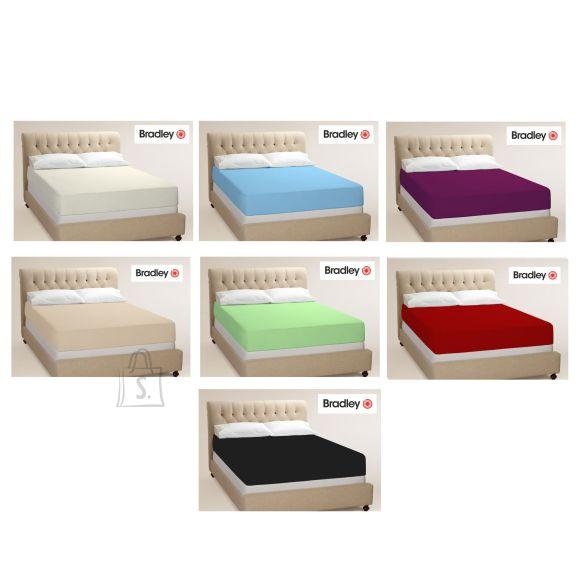 Bradley kummiga voodilina 160x200 cm, erinevad värvid