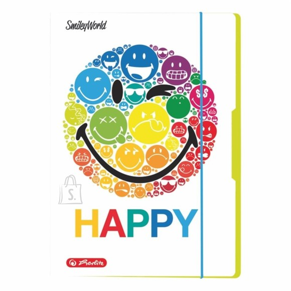 Herlitz kartongist kaaned Smiley A4