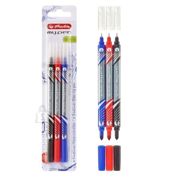 Herlitz tindipliiats+vildikas My pen 2 otsa 3tk