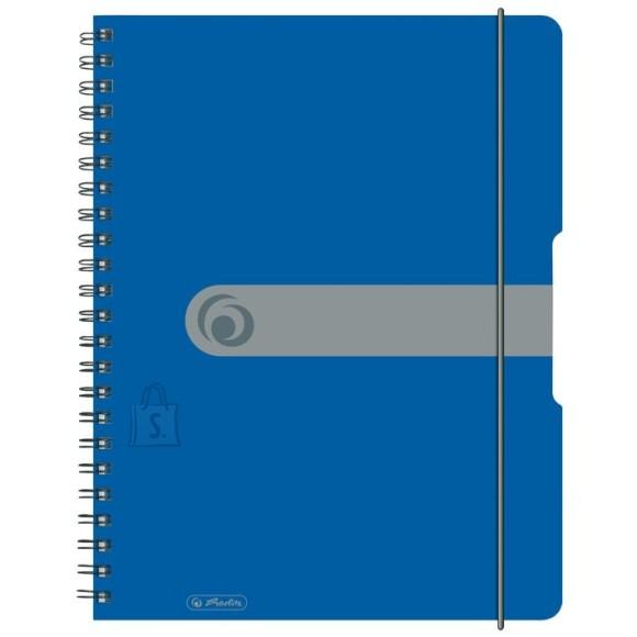 Herlitz spiraalkaustik A4/80 lehte, sinine