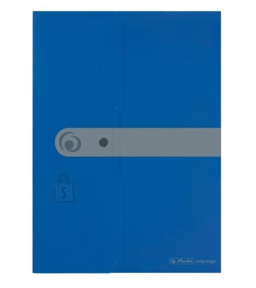 Herlitz kirjaümbrik trukiga A4, sinine