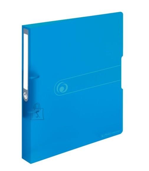 Herlitz rõngaskaaned A4/25mm, läbipaistev sinine