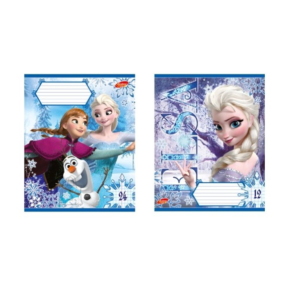 "Kaustik ""Frozen"" 48 lehte, ruuduline"