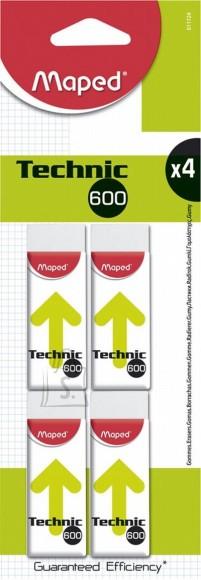 Maped kustutuskumm TECHNIC 600 4tk