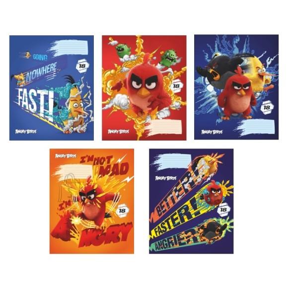 Vihik Angry Birds 18 lehte, jooneline
