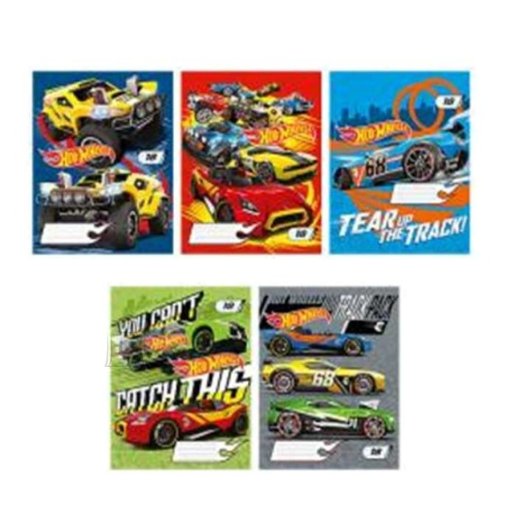 Kaustik  Hot Wheels 24lehte, ruuduline