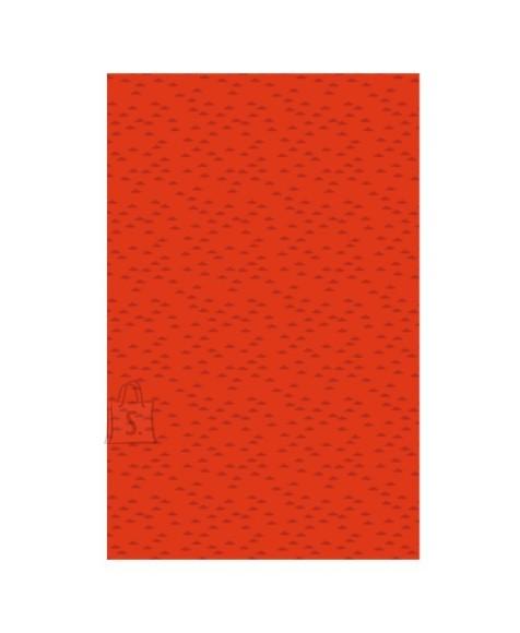 SusyCard ühekordne paberist laudlina 80x80 cm Waves red