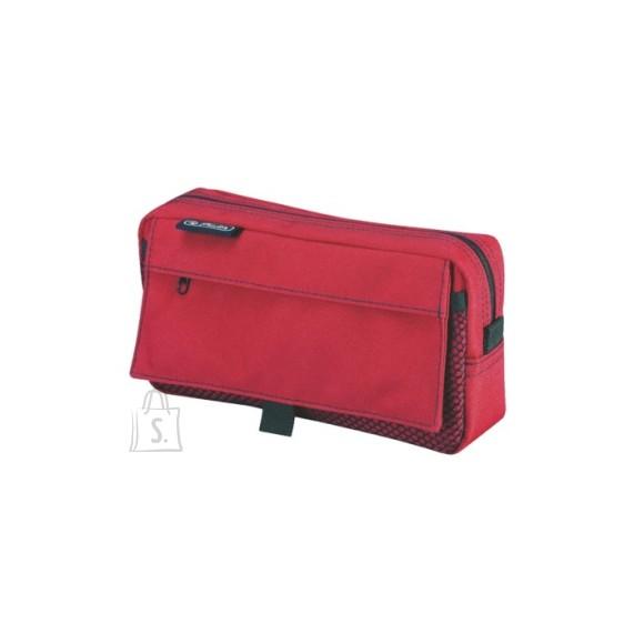 Herlitz Pinal 2 luku ja 2 taskuga - punane