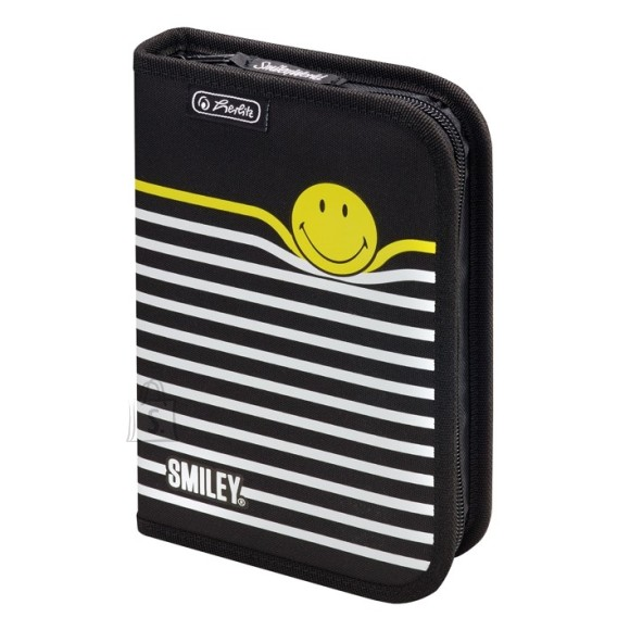 Herlitz täidetud pinal 19 osa - Smileyworld Black Stripes