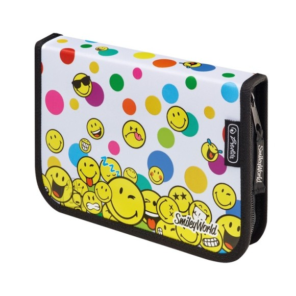 Herlitz täidetud pinal 19 osa - Smileyworld Rainbow Faces