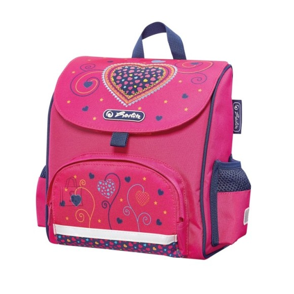 Herlitz ranits MINI SOFTBAG - Pink Hearts