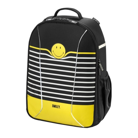 Herlitz koolikott Be Bag AIRGO Smileyworld Black Stripes