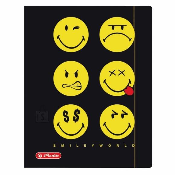 Herlitz kummiga kaaned Smiley A4