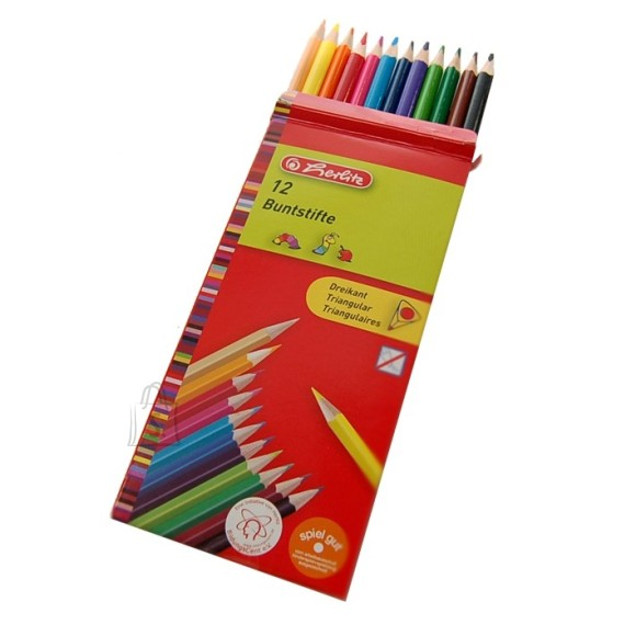 Herlitz värvipliiats 12 värvi