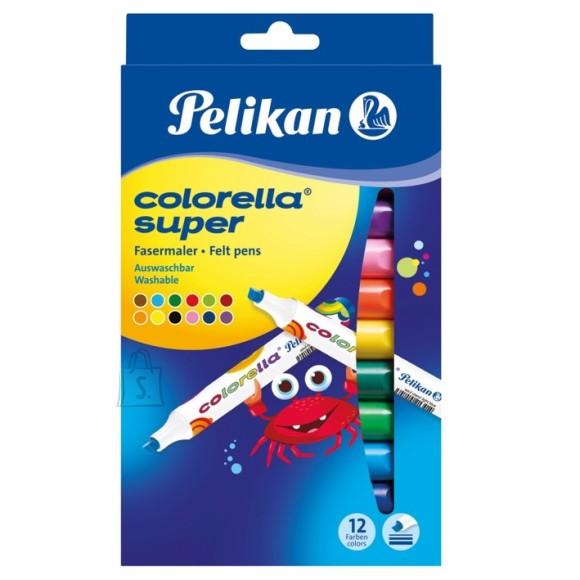 Pelikan viltpliiats 12 värvi - pestav