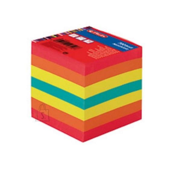 Herlitz märkmekuup 9x9x9 cm 700lehte,värviline