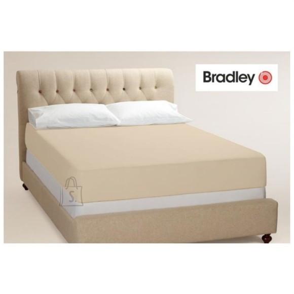 Bradley kummiga voodilina160x200 cm,  kreem