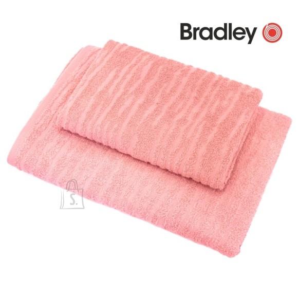 Bradley froteerätik 70x140 cm jacquard pastellroosa