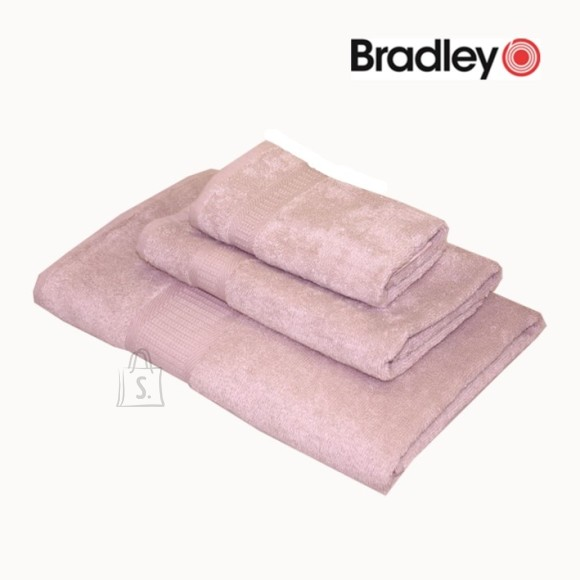 Bradley froteerätik Bamboo 30x50 cm, Lux roosa