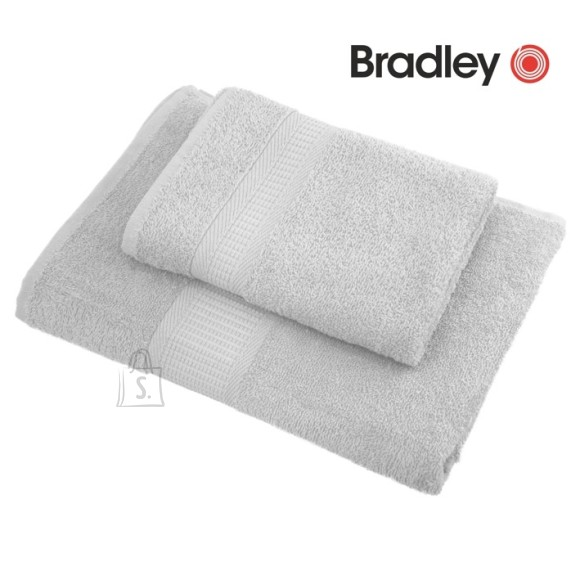 Bradley froteerätik 100X150 cm, helehall