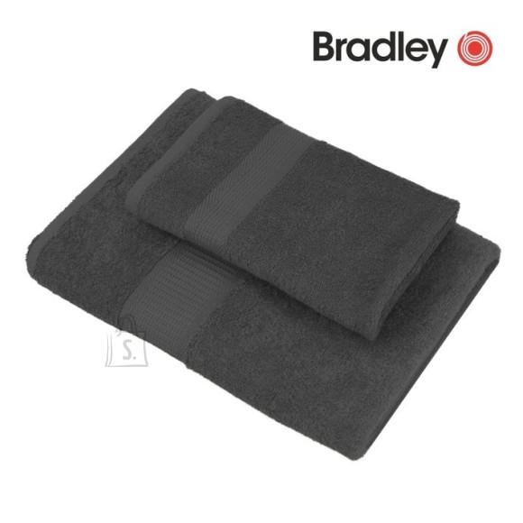 Bradley froteerätik 100x150 cm, tumehall