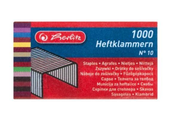 Herlitz Klamber nr 10/1000 tk.