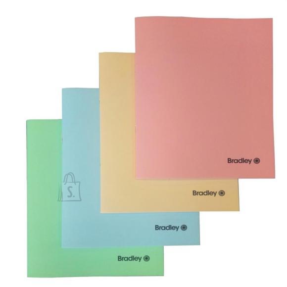 Bradley Kaustik 36l jooneline, plastkaanega 4 värvi assortii