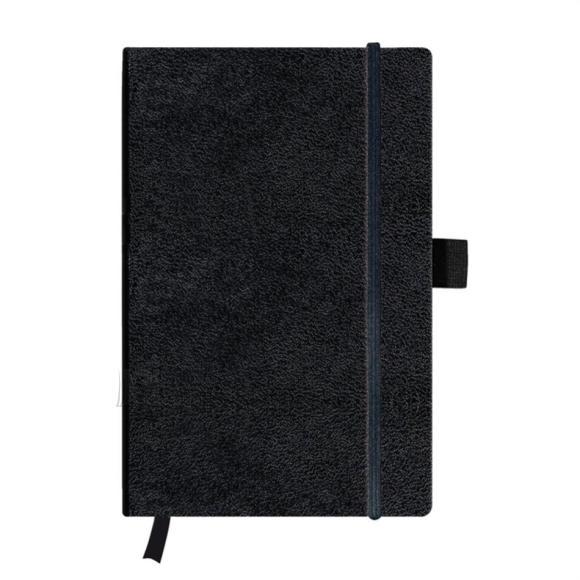 Herlitz märkmeraamat A5/96l my.book black ruuduline
