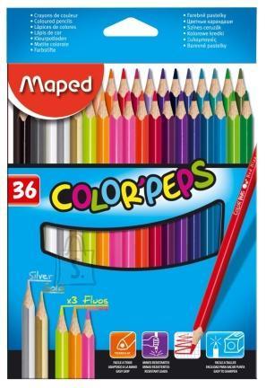 Maped Värvipliiats Maped ColorPeps  36tk