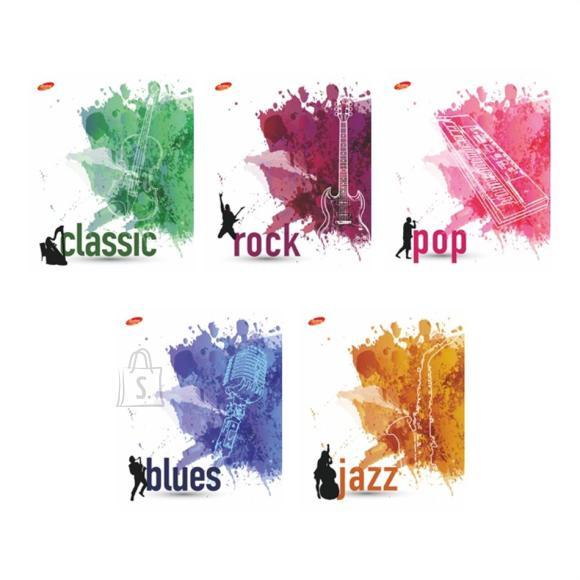 Kaustik 48l ruut pop jazz rock