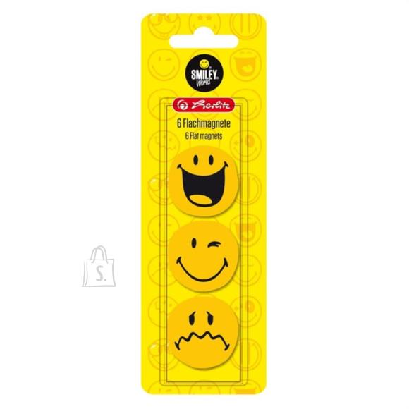 Herlitz Magnetid Smiley 6tk