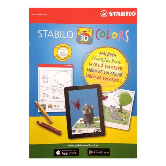 Stabilo Stabilo värvimisraamat A4/12 lehte