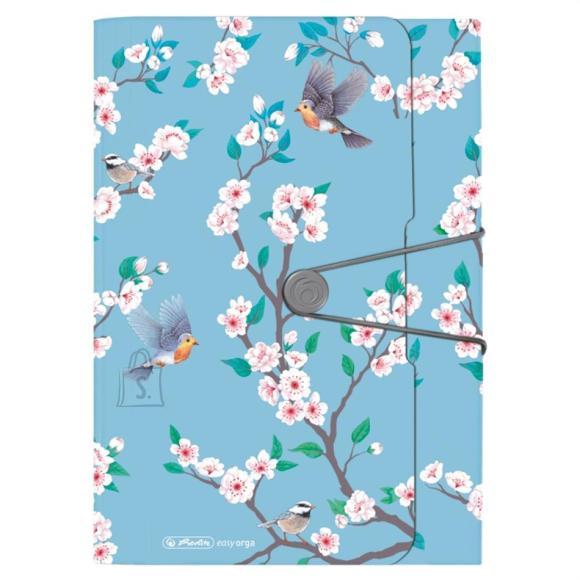 Herlitz Lõõtsmapp A4 Ladylike Birds 12 vahega