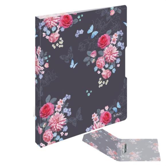 Herlitz Rõngaskaaned A4 16mm Ladylike Flowers