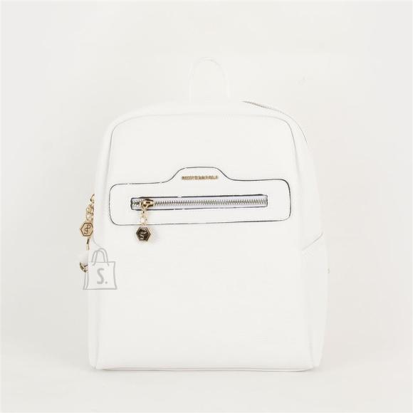 Silver & Polo Naiste seljakott eestaskuga Silver&Polo 866, valge
