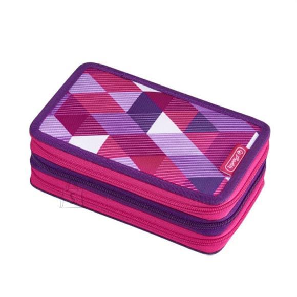 Herlitz Täidetud pinal 3 lukuga, 31 osa pink cube